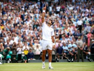 Novak wins Wimbledon