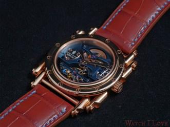 Manufacture Royale Androgyne Light Blue Rose Gold - Royale Bespoke