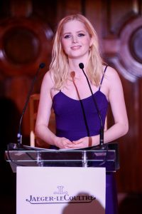 Ellie Bamber at Jaeger-LeCoultre Gala dinner in London @gettyimages LONDON, ENGLAND - JULY 08: Ellie Bamber at The Royal Academy on July 08, 2019 in London, England. (Photo by John Phillips/Getty Images for Jaeger-LeCoultre)