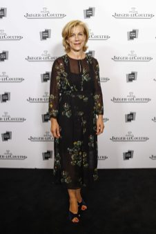Juliet Stevenson at Jaeger-LeCoultre Gala dinner in London with Letters Live@gettyimages