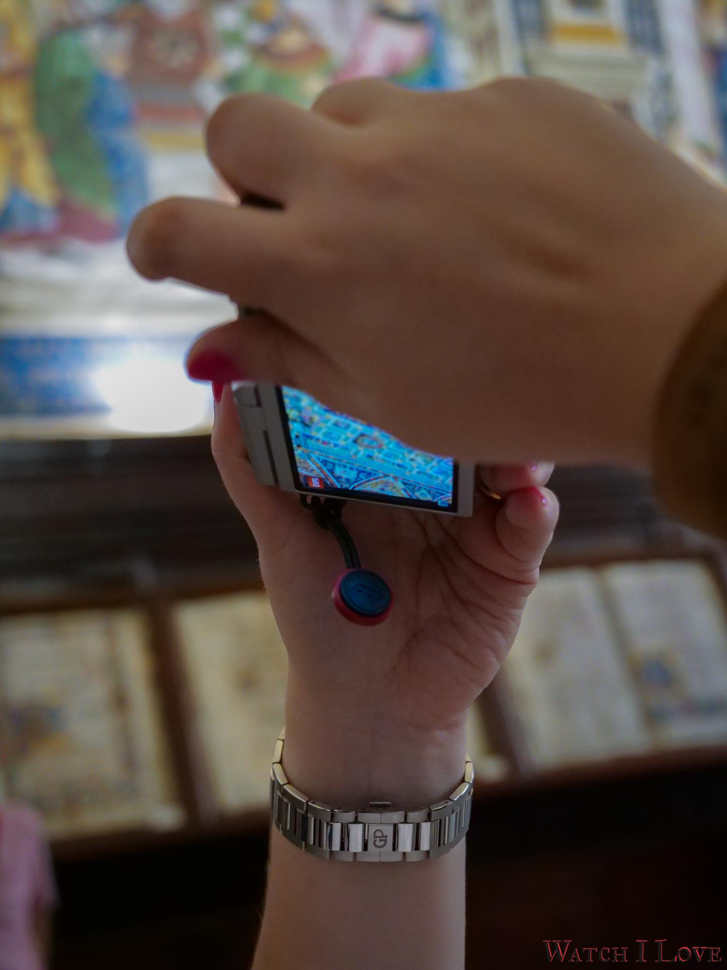 Girard-Perregaux Laureato Sienna bracelet