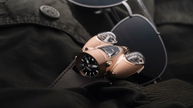 MB&F HM9 'Flow' Air red gold