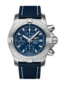 avenger-chronograph-43-in-stainless-steel-with-blue-dial-and-blue-leather-military-strap-1