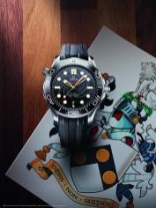 Omega Seamaster Diver 300M 50th anniversary of On Her Majesty's Secret Service