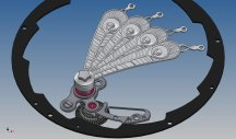 Fabergé Compliquée Peacock - Detail