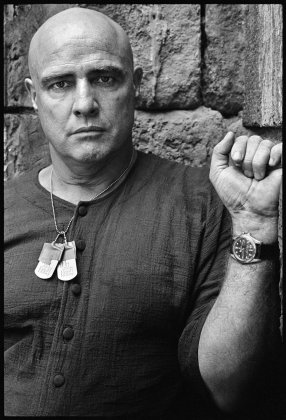 Marlon Brando on the Set of Apocalypse Now, Credit Mary Ellen Mark