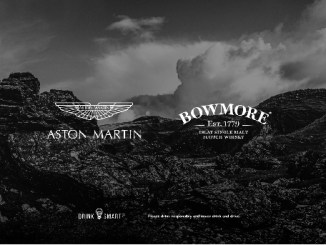 Aston Martin pertners with Bowmore®