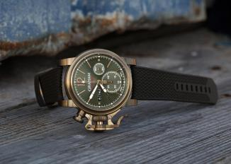 Graham Chronofighter Carrasqueira 43