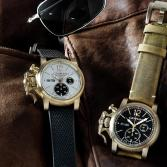 Graham Chronofighter Vintage Bronze
