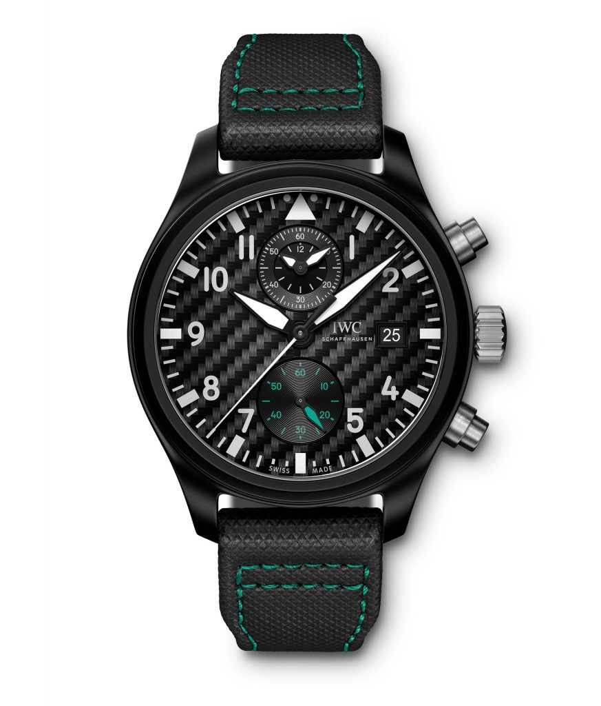 "Pilot's Watch Chronograph Edition ""Mercedes- AMG Petronas Motorsport"" (Ref. IW389005)"