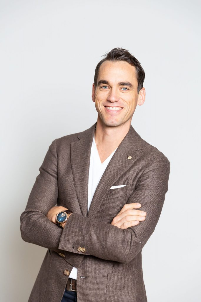 Edouard Meylan CEO of H. Moser & Cie.