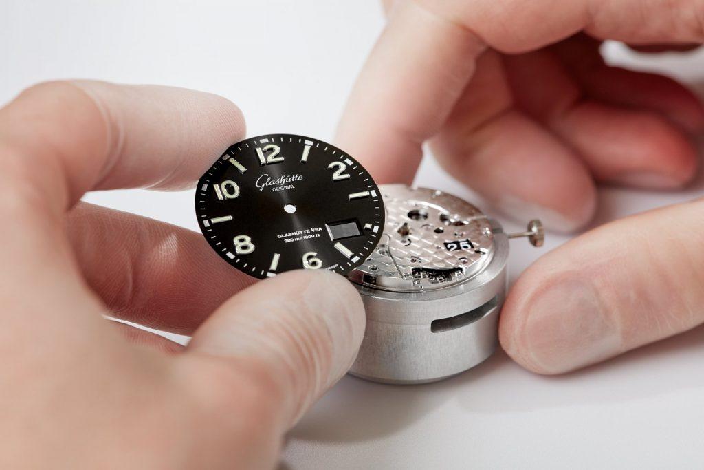 Glashütte Original Dials for divers