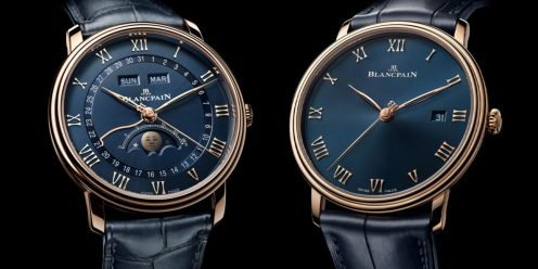 Blancpain Villeret Quantième Complet and the Ultraplate
