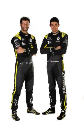 Daniel RICCIARDO and Esteban OCON