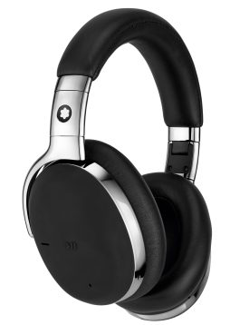 Montblanc Headphones black_chrome ID 127665 EUR 590_