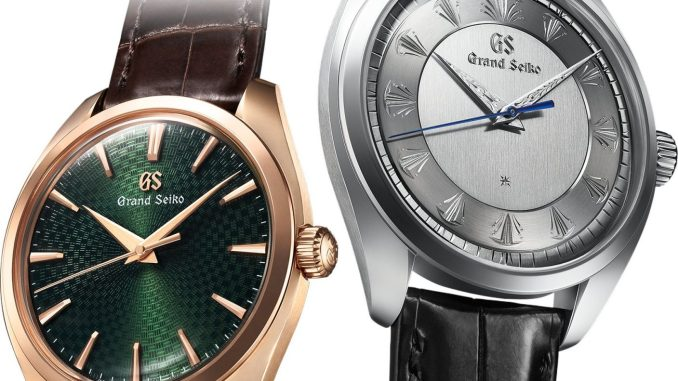 Grand Seiko 60th Anniversary Limited Edition SBGW263 & SBGW264
