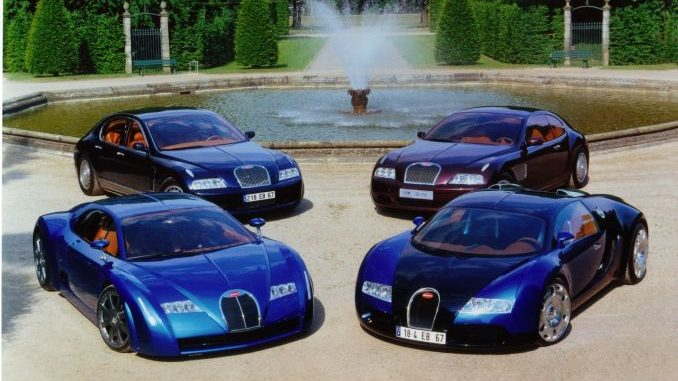 15 years of Bugatti Veyron