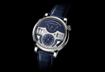 A. Lange & Söhne Zeitwerk Minute Repeater blue dial