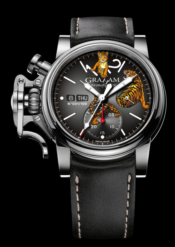 Graham Chronofighter Vintage Special Tiger