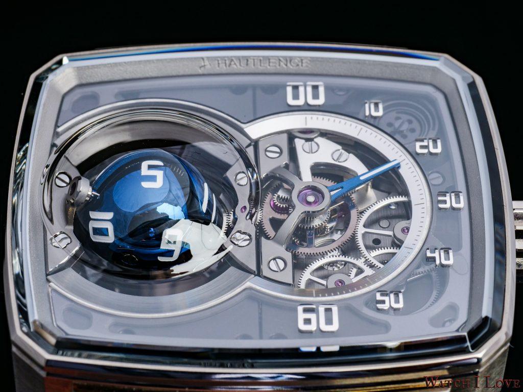 HL Sphere dial detail