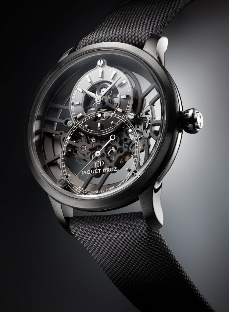 Jaquet Droz Grande Seconde Skelet-One Plasma Ceramic