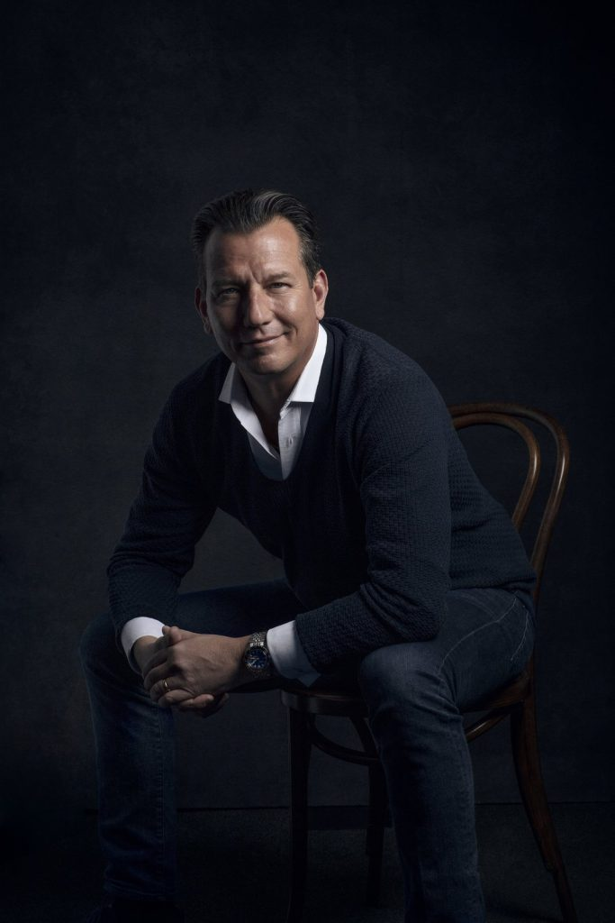 Jan Edöcs, CEO of DOXA Watches