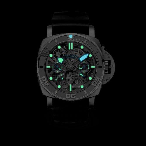 Panerai Submersible EcoPangaea™ Tourbillon GMT - 50 mm Mike Horn Edition PAM01108