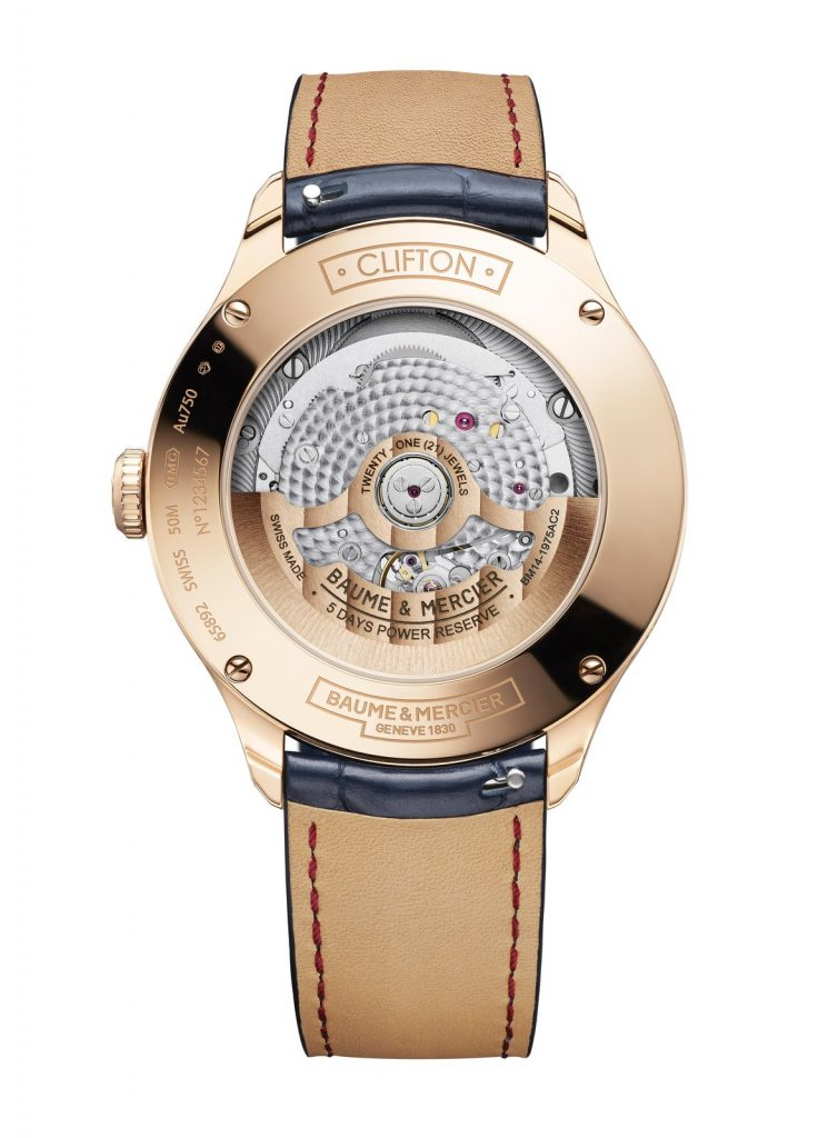 Baume & Mercier Clifton Baumatic Day-Date Moon-Phase