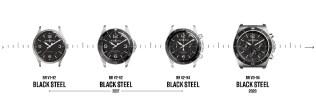 Black Steel Collection line up