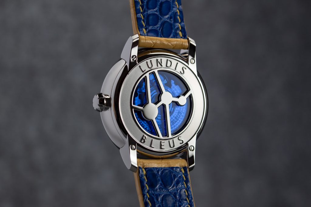"Lundis Bleus Ref.1120-UP ""Vipera Aspis Blue Green"""