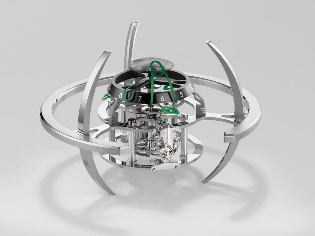 MB&F + L'EPEE 1839 Starfleet Explorer green