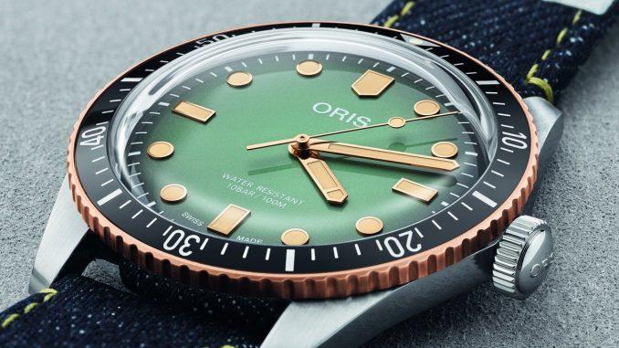 Oris x Momotaro Divers Sixty-Five