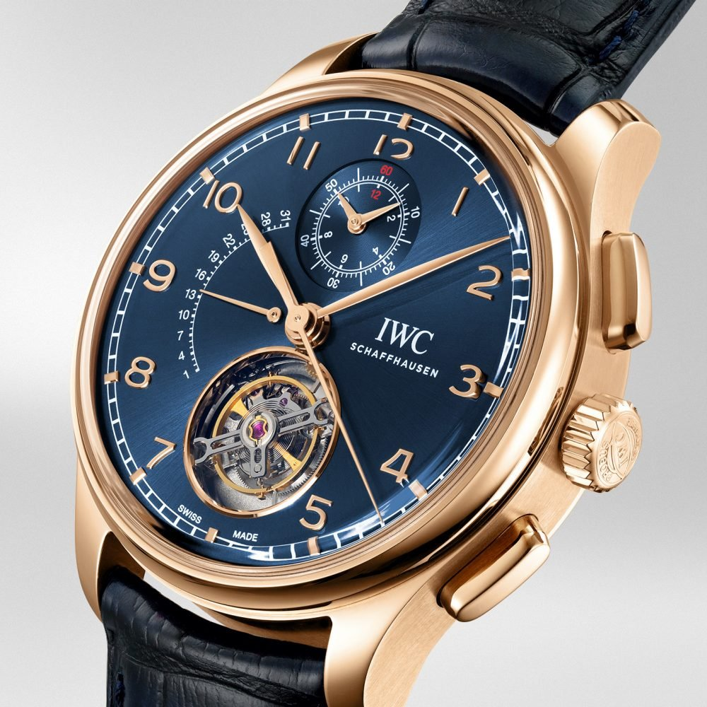 IWC Portugieser Tourbillon Rétrograde Chronograph Ref. IW394005 Boutique Edition
