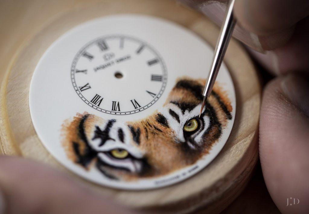 "Jaquet Droz Petite Heure Minute ""Tiger"""