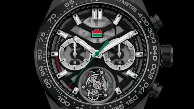 "TAG Heuer Carrera Chronograph Calibre Heuer 02 Tourbillon ""ODD BALLS"" Edition"