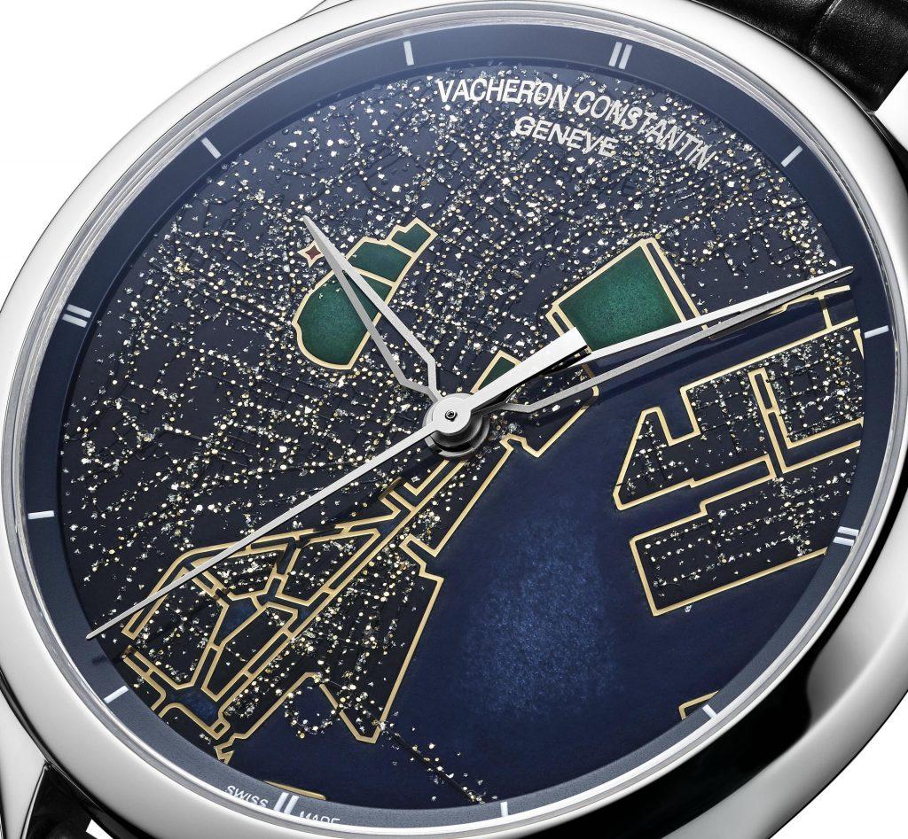 An innovative artistic craft making its first watchmaking appearance in a dialogue with Grand Feu enamelling Aerial views of the world's most beautiful cities