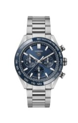 TAG Heuer Carrera Sport Chronograph 44 mm Calibre HEUER02 Automatic Reference CBN2A1A.BA0643