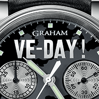 Graham Chronofighter Vintage Ltd VE-Day