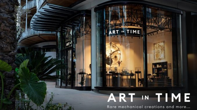 A Very Special Premiere: Monaco's prestigious ART IN TIME gallery chooses DE BETHUNE to inaugurate a new exhibition concept.