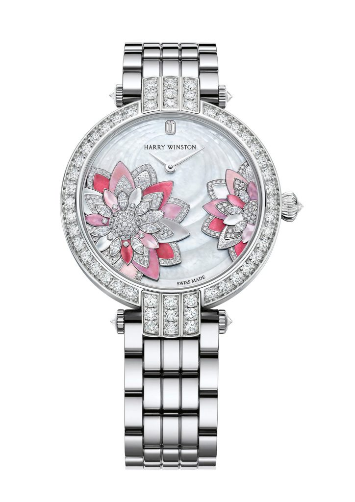 Harry Winston Premier Lotus Automatic 36mm Reference PRNAHM36WW034