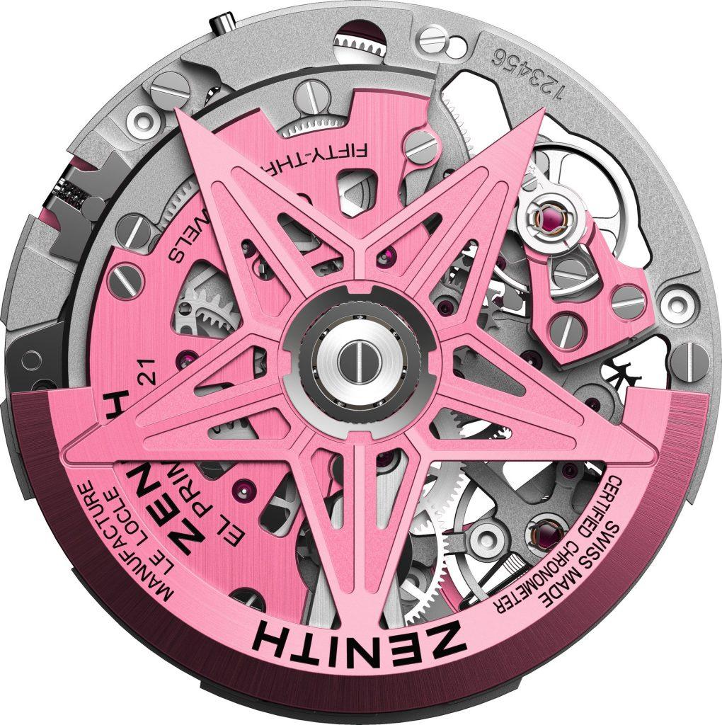 Zenith Defy El Primero 21 Pink Edition