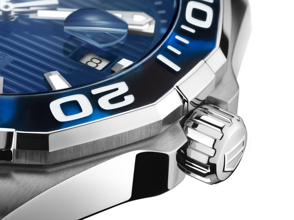 TAG Heuer Aquaracer 43 mm Tortoise Shell EffectCalibre 5 Automatic in Blue WAY201P.FT6178