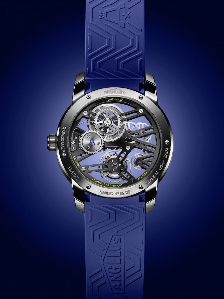 Angelus U41 Tourbillon Skeleton