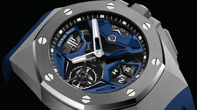 A new design for Audemars Piguet's Royal Oak Concept Flying Tourbillon GMT - Watch I Love