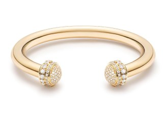 Possession Open Bangle Yellow Gold