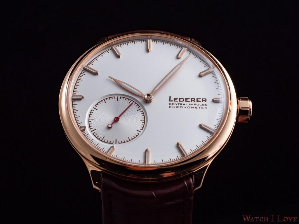 Bernhard Lederer Central Impulse Chronometer
