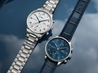 IWC Portugieser Chronograph Stainless Steel Bracelet