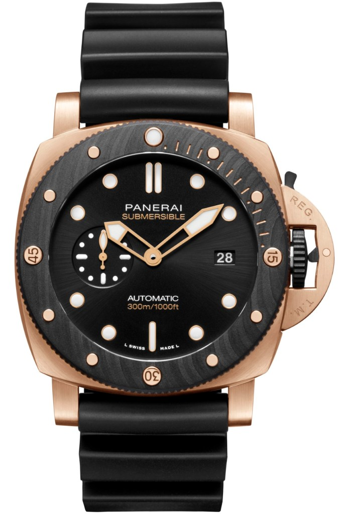 Panerai Submersible Goldtech™ Orocarbo PAM01070
