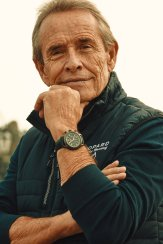 Jacky Ickx wearing the Mille Miglia Racing Edition (c) Adam Fussell