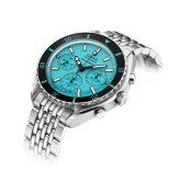 798.10.241.10 (turquoise dial, stainless steel bracelet)